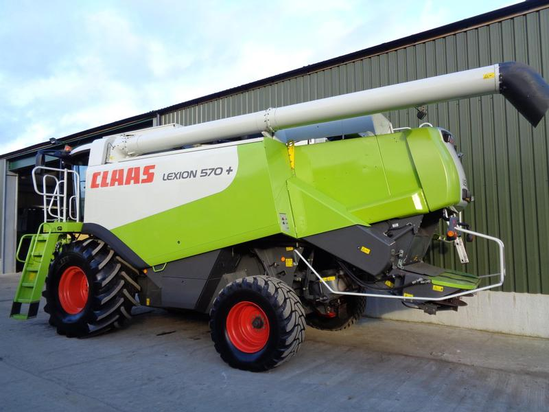Claas Lexion 570+ Rotary Combine