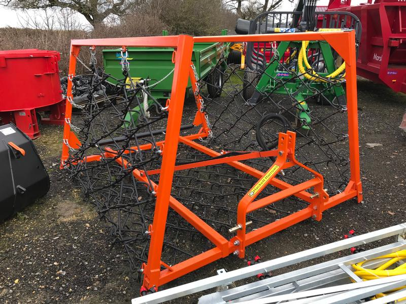 Hackett 16ft Hydraulic Folding Chain Harrows