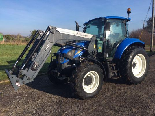 New Holland T5.105 Deluxe
