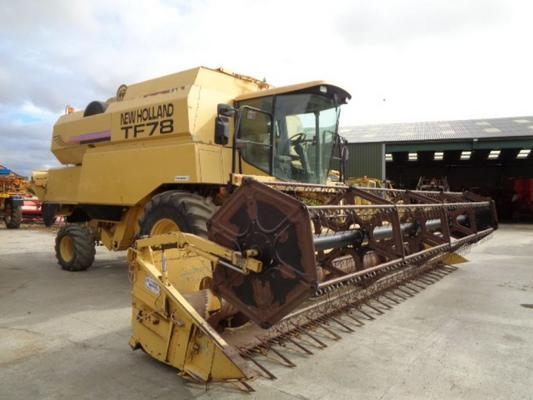 New Holland Used  TF78 Elektra Combine