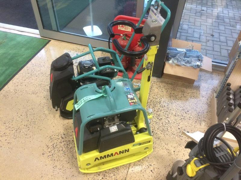 Ammann APR2220 Foward/Rev Compactor Plate