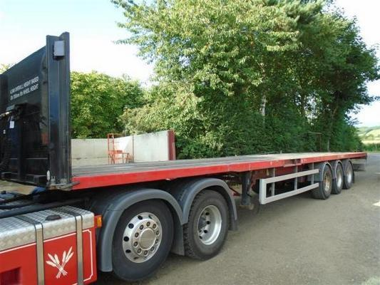 Sdc  45ft Flat Trailers For Sale