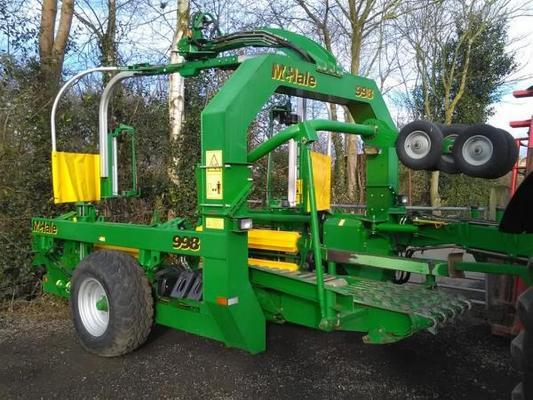 McHale  998 Bale Wrapper For Sale