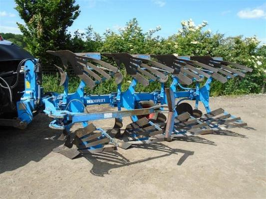 Lemken  Europal 7 4Furrow Plough For Sale