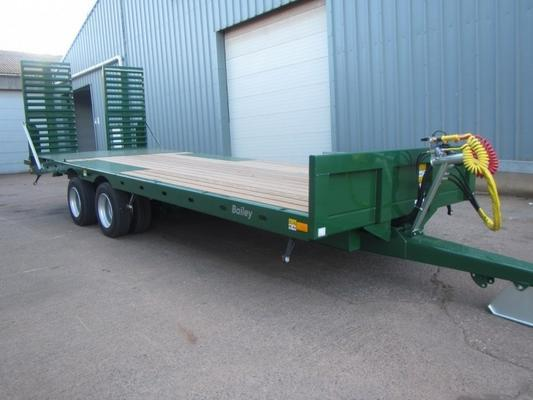 Bailey 15 Ton low loader trailer
