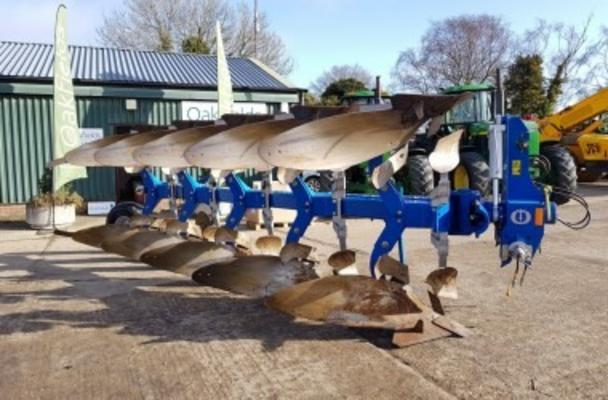 2010 OVERUM CX 5975F 5 FURROW PLOUGH