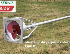 Güllemixer, slurry mixer 4 m Mikser do gnojowicy MS-4000