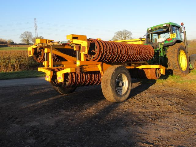 TWOSE 12.4m Hydraulic Folding Ring Rolls