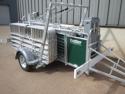 Prattley 10ft mobile sheep yard