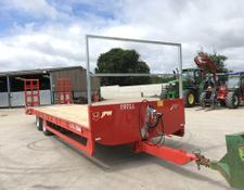 JPM 28 Foot Low Loader Red
