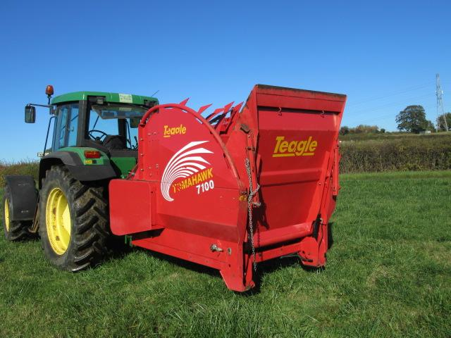 Teagle 7100 Mounted Straw Chopper