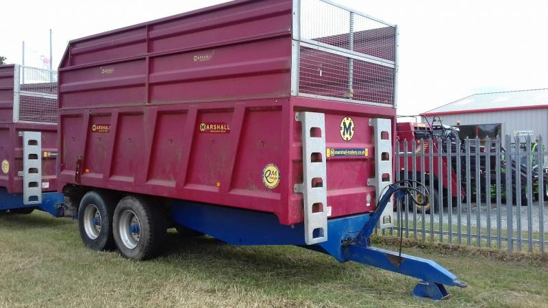 Marshall QM12 grain and silage trailer