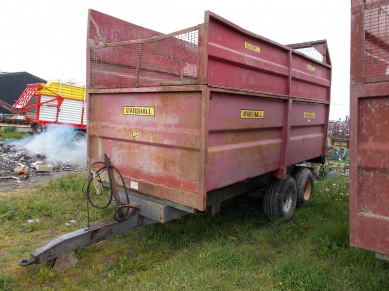 Marshall 8t Silage Trailer For Sale