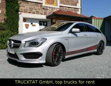 Mercedes-Benz CLA 45 AMG Performance 381 PS, Magno-Silber,