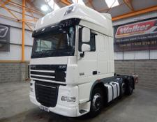 Daf XF105 460 SUPERSPACE EURO 5, 6 X 2 TRACTOR UNIT - 2013 - EY13 UZV