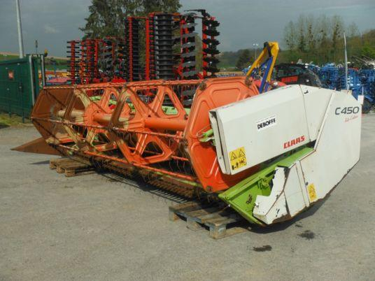 Claas COUPE A CEREALES