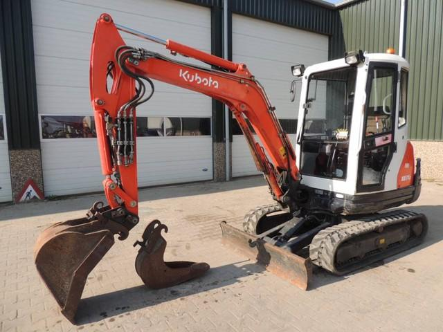 Kubota KX71-3 Mini Graafmachine
