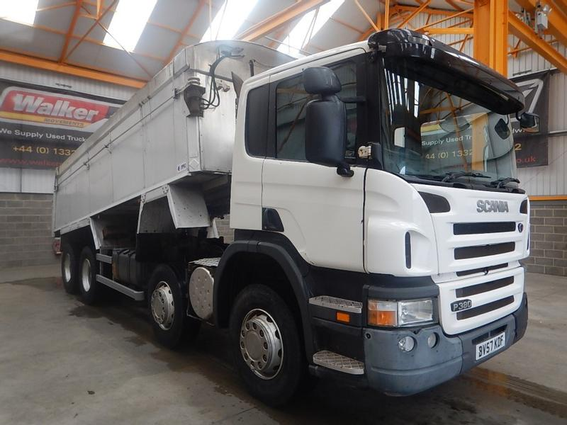 Scania P380 8 X 4 ALUMINIUM INSULATED TIPPER - 2007 - BV57 KDF