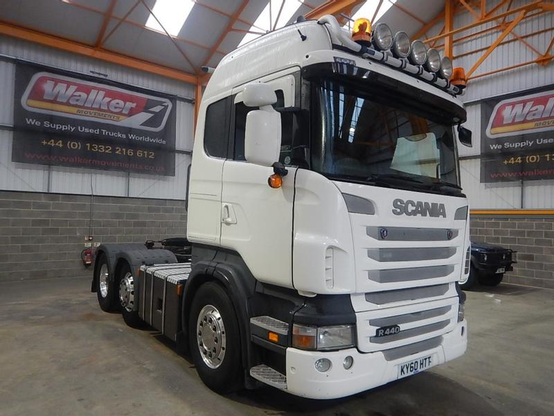 Scania R440 HIGHLINE 6 X 2 TRACTOR UNIT - 2010 - KY60 HTT