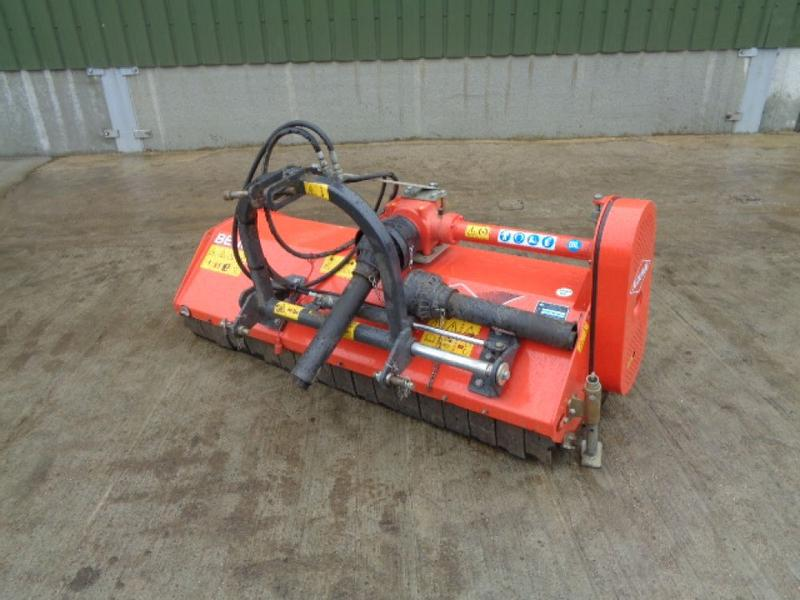 Kuhn BE16 Front & Rear Flail Mower