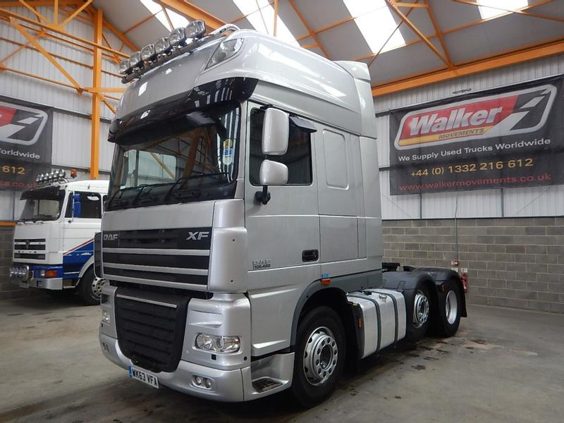 Daf XF105 460 SUPERSPACE EURO 5, 6 X 2 TRACTOR UNIT - 2013 - WK63 VFA