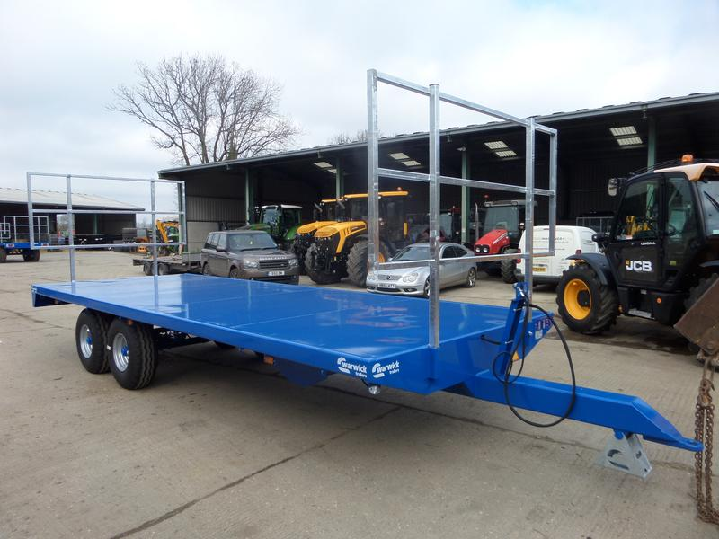 Warwick WB8B 22FT BALE TRAILER