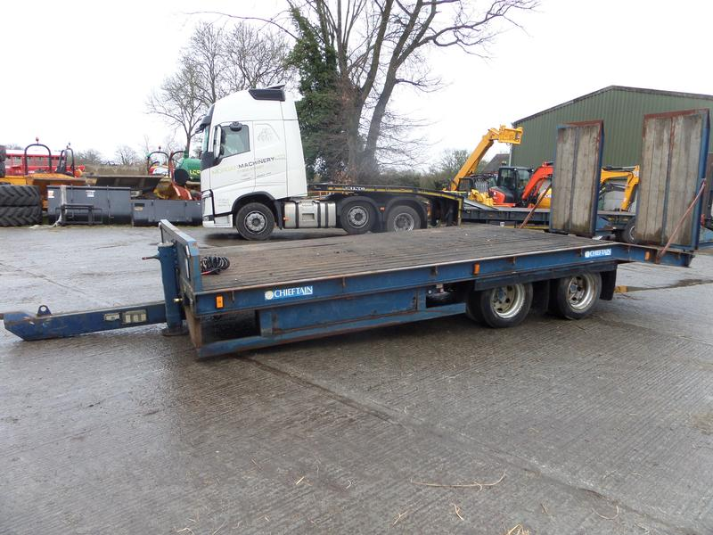 Chieftain 21FT COMMERCAIL LOW LOADER TRAILER