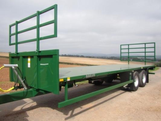 Bailey 12 ton 27ft flat bed trailer