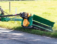 Kellfri Kosiarka do poboczy / Verge flail mower with flap / Mähmaschine flail der Grenze mit Schwung 140